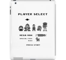 Classic game boy player select iPad Case/Skin