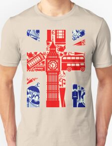 Landmark and Flag 578 Unisex T-Shirt