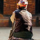 Warmed by the sun, Kathmandu, Nepal by indiafrank