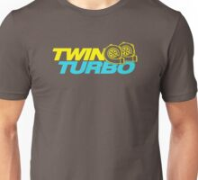 TWIN TURBO (5) Unisex T-Shirt