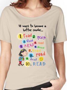 Better Reader Women's Relaxed Fit T-Shirt