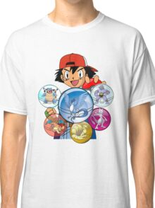 GO GO All Characters monster Classic T-Shirt