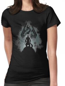 The Dovahkiin Womens Fitted T-Shirt