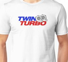 TWIN TURBO (6) Unisex T-Shirt