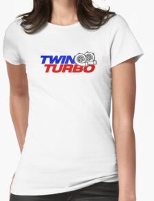 TWIN TURBO (6) Womens Fitted T-Shirt