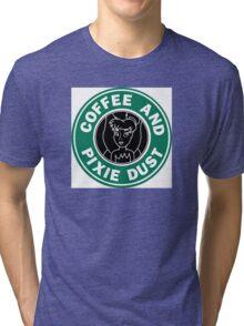 Faith Trust and Caffeine Tri-blend T-Shirt