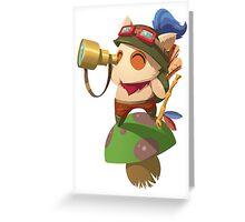 MiniChamps - Teemo Greeting Card