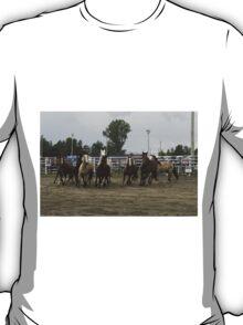 Horses on the run T-Shirt