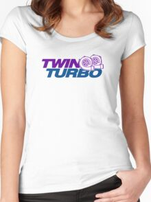 TWIN TURBO (8) Women's Fitted Scoop T-Shirt