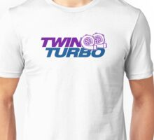 TWIN TURBO (8) Unisex T-Shirt