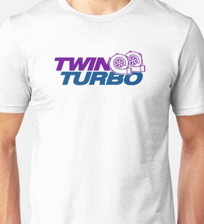 TWIN TURBO (8) Unisex T-Shirt