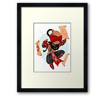 MiniChamps - Lee Sin Framed Print