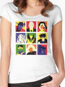 Collectible Characters Women's Fitted Scoop T-Shirt