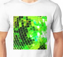 Funky Green Disco Ball Unisex T-Shirt