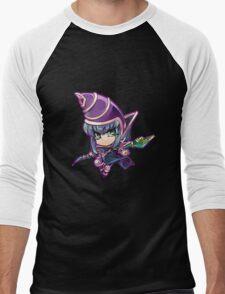Chibi Dark Magician Men's Baseball ¾ T-Shirt