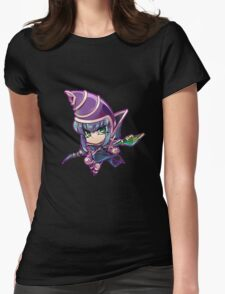 Chibi Dark Magician Womens Fitted T-Shirt