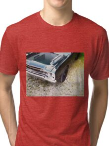 vintage car aquarell Tri-blend T-Shirt