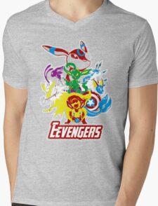 Eevengers Mens V-Neck T-Shirt