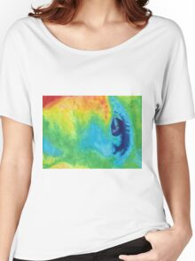 cool weird eye Women's Relaxed Fit T-Shirt