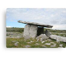 Poulnabrone dolmen, Celtic Ireland Canvas Print