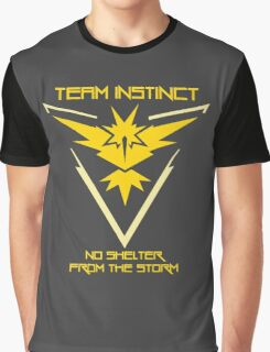 Team Instinct - No Shelter From The Storm Graphic T-Shirt