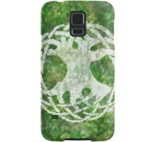 Greenery and a White Tree Samsung Galaxy Case/Skin