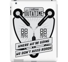 Flux Capacitor Redux iPad Case/Skin