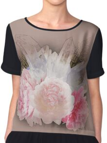 Crystal Dream in Pink Chiffon Top