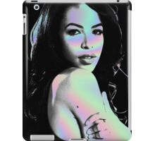 aaliyah hologram iPad Case/Skin