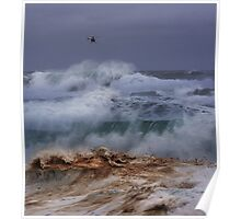 Winter Waves At Pipeline 18 Poster