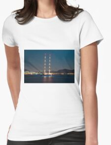 Ship with high masts Womens Fitted T-Shirt