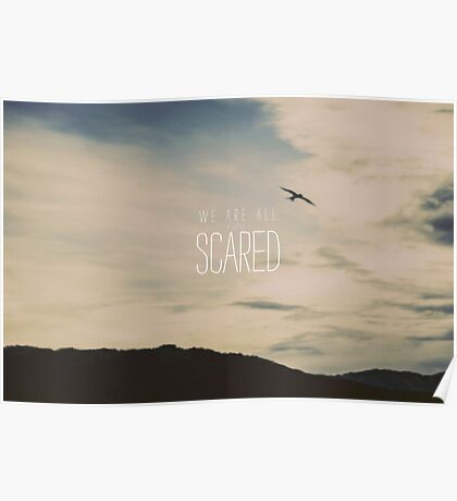 Scared Poster