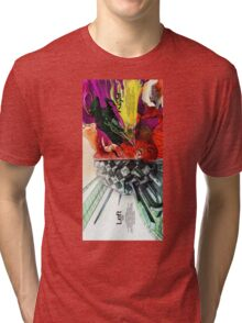 Left And Right Brain Tri-blend T-Shirt