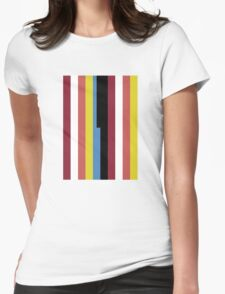 DOCTOR WHO - BILL'S VEST PATTERN  Womens Fitted T-Shirt