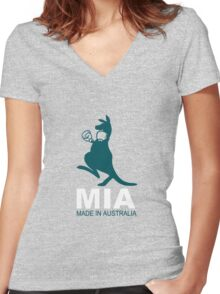 MIA - Made in Australia TSHIRT Women's Fitted V-Neck T-Shirt