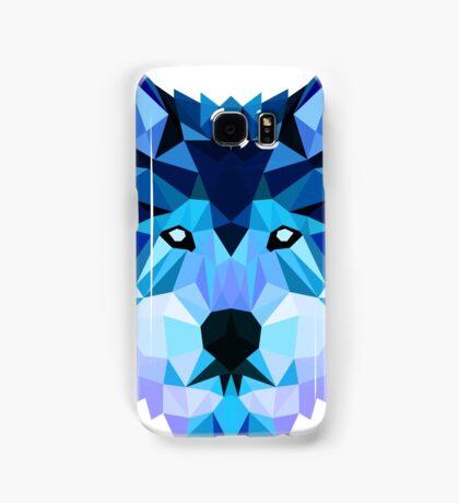 Blue Wolf Samsung Galaxy Case/Skin