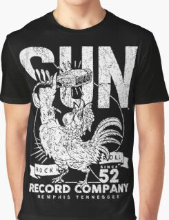 SUN RECORDS - ROCK N ROLL Graphic T-Shirt