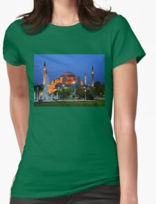 Blue hour in Hagia Sophia T-Shirt