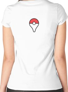 pokemon go plus cute  Women's Fitted Scoop T-Shirt