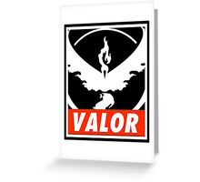 Valor Bar Greeting Card