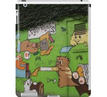Graffiti, Avenue B, Lower East Side, NYC iPad Case/Skin