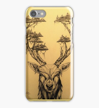 Stag and Antlers iPhone Case/Skin