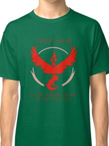 Team Valor - In The Darkest Night, We Are The Flame Classic T-Shirt