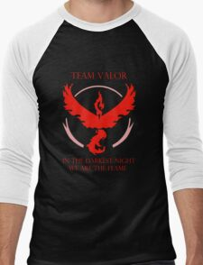 Team Valor - In The Darkest Night, We Are The Flame Men's Baseball ¾ T-Shirt