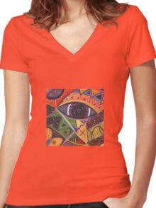 The Joy of Design III Women's Fitted V-Neck T-Shirt