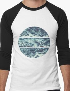 Saltwater Tryptych Men's Baseball ¾ T-Shirt