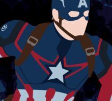 Patriotic Paint Splatters Sticker