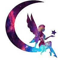 Galaxy Fairy Photographic Print