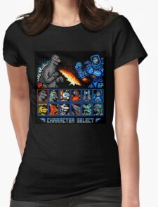 Kaijufighter Womens Fitted T-Shirt