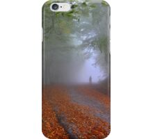Lonesome stranger at the mythical mountain iPhone Case/Skin